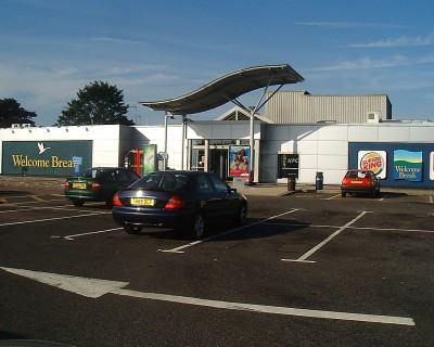 Newport Pagnell Services Food