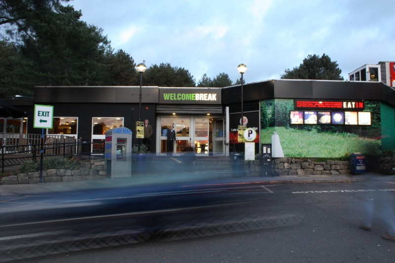 Image result for Fleet Welcome Break motorway service station